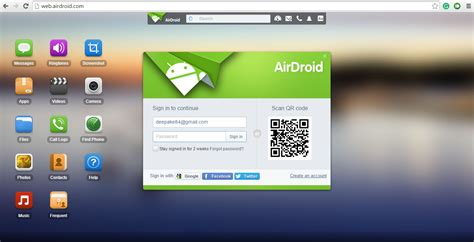 your android review airdroid review access your android via your pc best apk