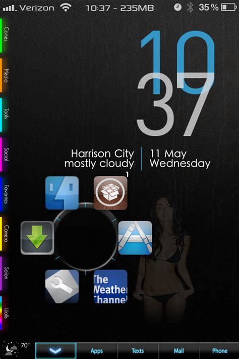 iphone 6 dreamboard themes r00t3d dreamboard theme for iphone 4