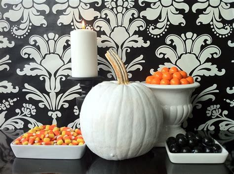 modern halloween decor modern halloween decor modshop style blog