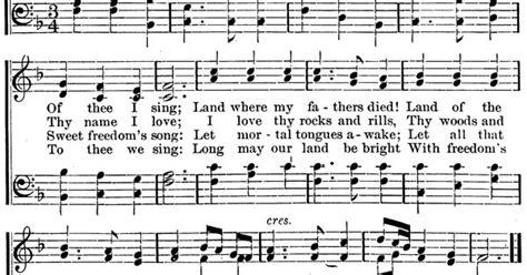 printable lyrics my country tis of thee my country tis of thee lyrics my country tis of thee
