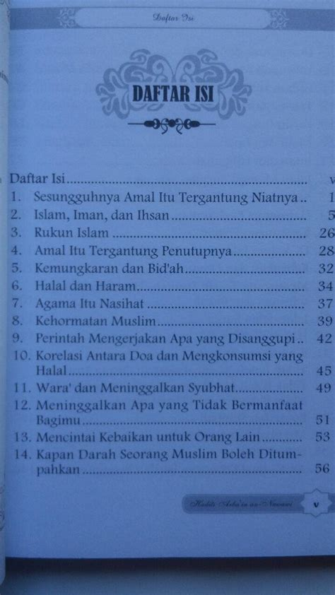 Buku Saku Jujur Awal Kebahagian Dusta Awal Kebinasaan buku hadits arba in an nawawi terjemah intisari kandungan