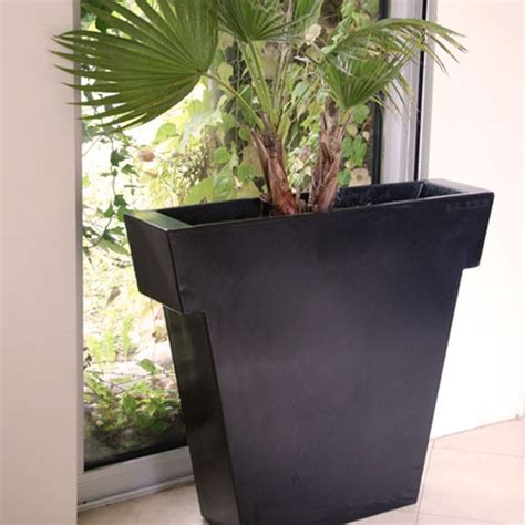 En Pot Exterieur by Pot Ext 233 Rieur Vaso Black 55 Cm La Boutique Desjoyaux