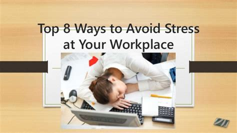8 Ways To Avoid An Boyfriend by Top 8 Ways To Avoid Stress At Your Workplace