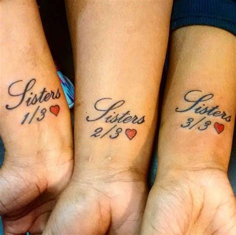3 sisters tattoos 22 awesome sibling tattoos for brothers and