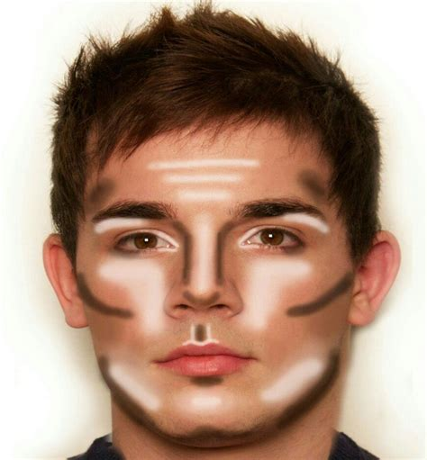 makeover tips for guys men s contouring face map men style pinterest face