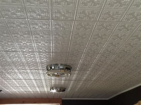 Metal Ceiling Tiles by Faux Tin Ceiling Tiles Surfacingsolution