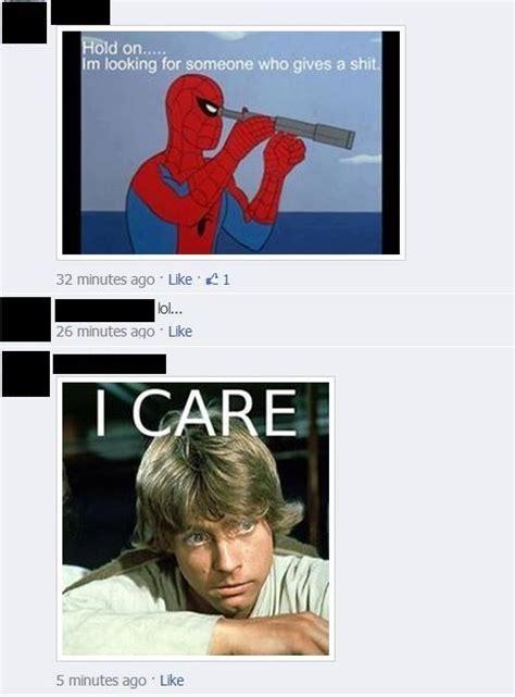 Luke Skywalker Meme - lol spiderman meme and luke skywalker meme on facebook