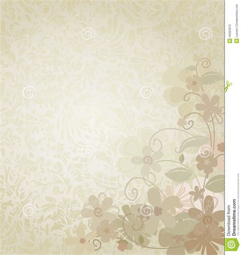 backdrop border design vintage background framed with corner border flowers stock