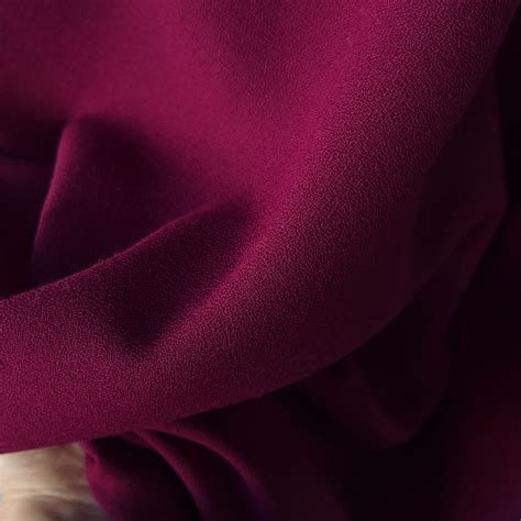 plum color dress polyester wool crepe fabric purple plum color made in uk