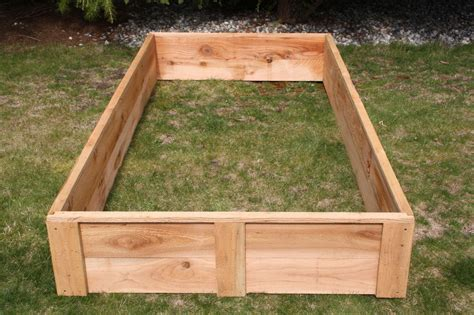 Cedar Raised Bed Garden Boxes Made In The Usa Grow Your Cedar Vegetable Garden Box
