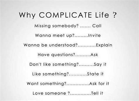 complicate life missing  collwanna