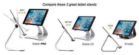 best tablet compare compare the best stands tablet stands thought out