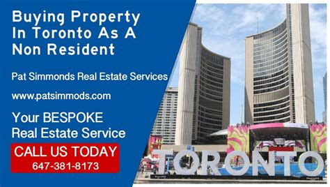 buying house in toronto buying property in toronto as a non resident leslie andpat