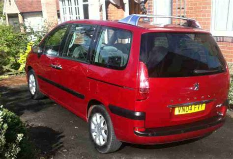 Peugeot 2004 807 Executive 2 2 Hdi Red 7 Seater Car For Sale