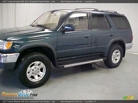1997 Toyota 4runner Sr5 1997 Toyota 4runner Sr5 4x4 Evergreen Pearl Metallic Oak