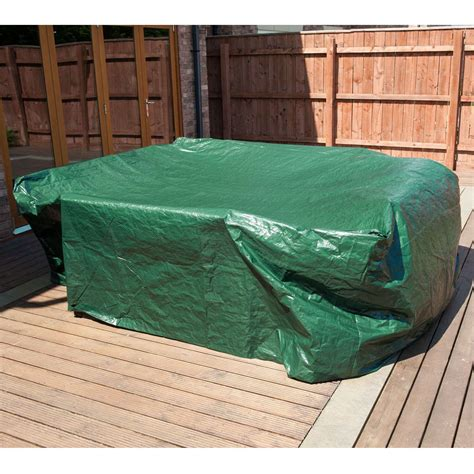 Outdoor Patio Furniture Covers Savisto Large Rectangular All Weather Patio Furniture Cover