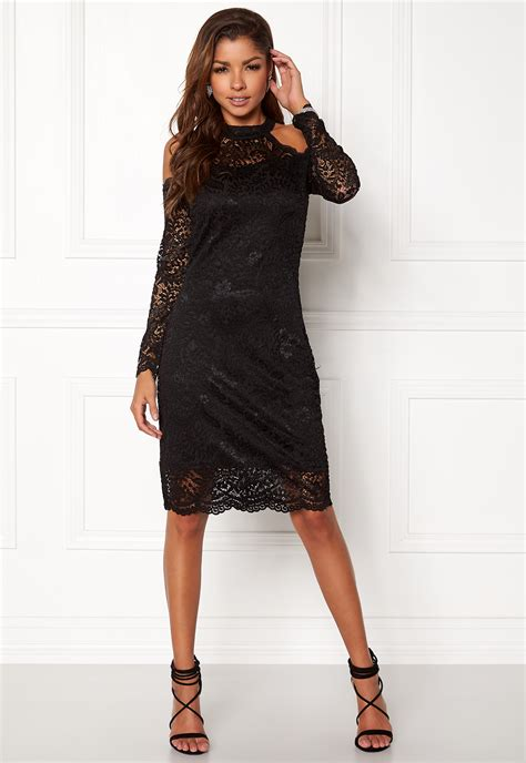 ls are going out only going out l s lace dress black bubbleroom