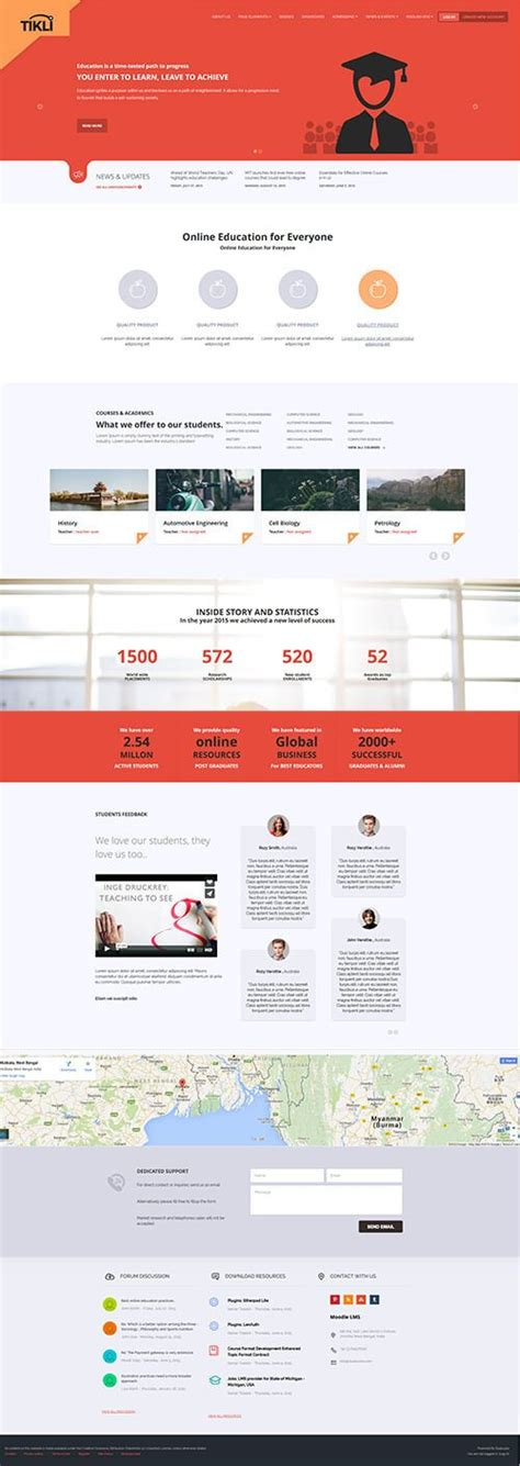 moodle theme layout options 15 best moodle themes of 2017 design shack