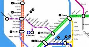 Mumbai Metro Map by Mumbai Metro