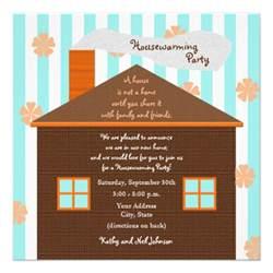 housewarming invitation brown house 5 25 quot square invitation card zazzle