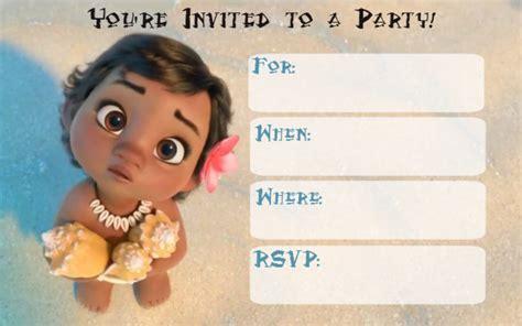 Invitation Card Moana musings of an average free printable moana invitations