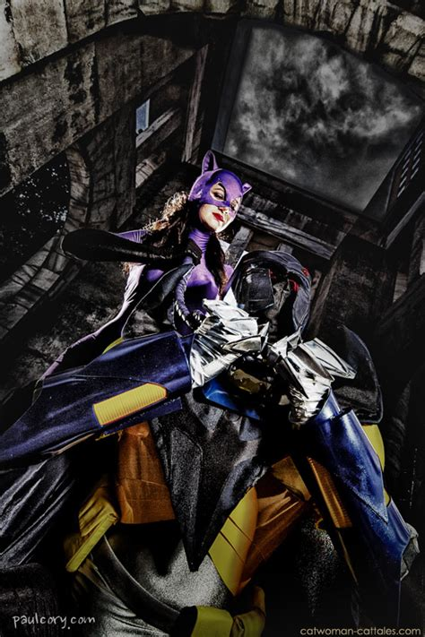 Armchair Detective Cosplay Catwoman Vs Azrael