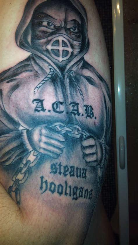 hooligans tattoo steaua hooligans