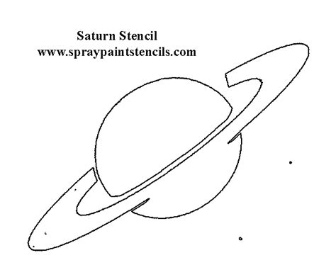 Space And Sci Fi Stencils Planet Stencils Printable
