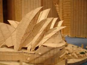 Toothpick House by World Architectures Made Of Toothpicks Tektuff Funny