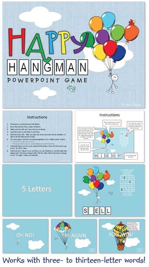 598 Best Images About Ela Games On Pinterest Group Games Review Games And The Words Hangman Powerpoint