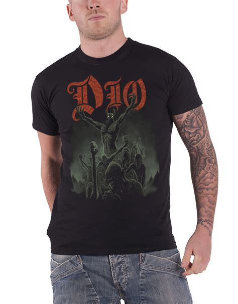 Dio 3 T Shirt dio t shirt the last in line holy diver band logo ronnie