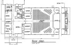 church floor plans church plan 120 lth steel structures