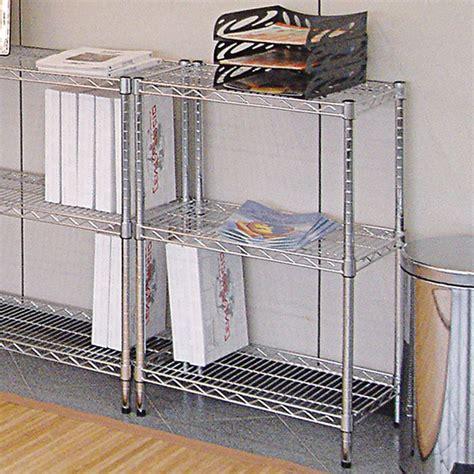 scaffale acciaio scaffale in acciaio 3 ripiani cm 60 x 35 x 90 h