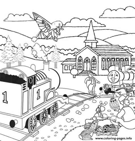 easter train coloring page easter full page thomas the train s046a coloring pages