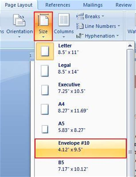 page layout tab word microsoft office word 2007 learn the page layout tab in ms