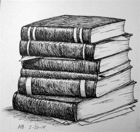 sketch book with pencil stack of books pencil drawing search still