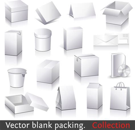 adobe illustrator box template  vector