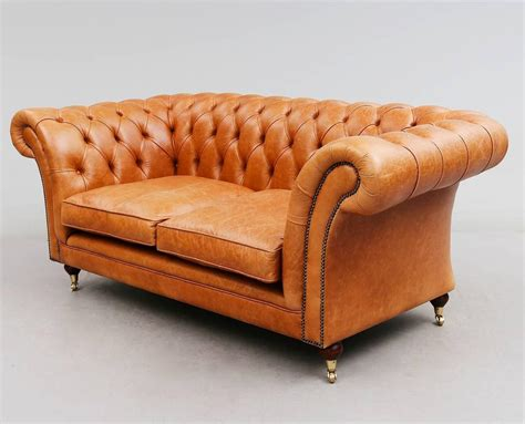 Light Brown Leather Sofa Light Brown Leather Chesterfield Sofa For Sale At 1stdibs