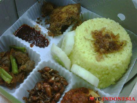 resep membuat nasi kuning dan lauknya resep nasi kuning enak dan gurih love indonesia recipe