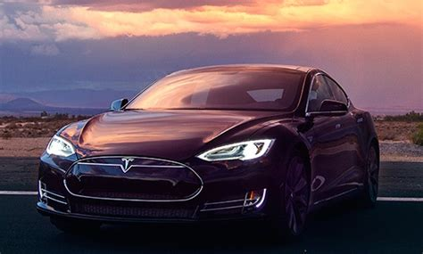 Tesla Model D Tesla S Elon Musk Shows The World His D And It S A