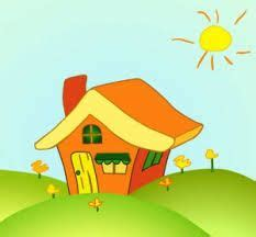 home cartoons google search house drawing  kids