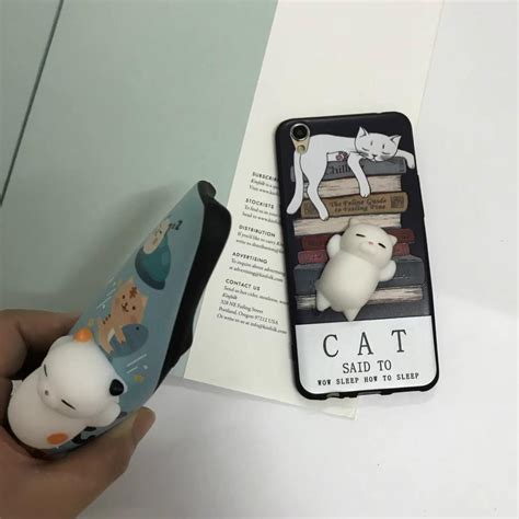 I Phone 6 6s Boneka squishy cat claw for iphone 6 plus 6s plus blue