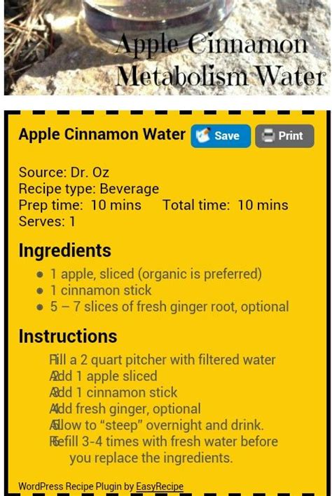Apple Cinnamon Water Detox Diet by Detox Waters Sodas And Diets For Weight Loss On