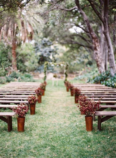 wedding benches 12 ways to make you wedding aisle look fabulous