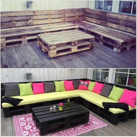 furniture ideas 30 creative pallet furniture diy ideas and projects