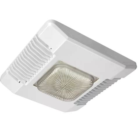Led Canopy Light Fixtures Led Canopy Light 120w Cree Cpy250 A Dm D B Ul Wh