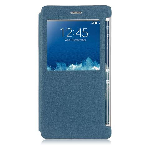 Sarung Flip Cover Samsung Note Edge for samsung galaxy note edge sm n915 leather flip wallet cover slim view uk ebay