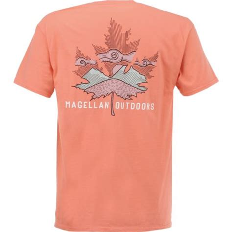 Kaos T Shirt Magellan Outdoors magellan outdoors s maple leaf graphic sleeve t shirt academy