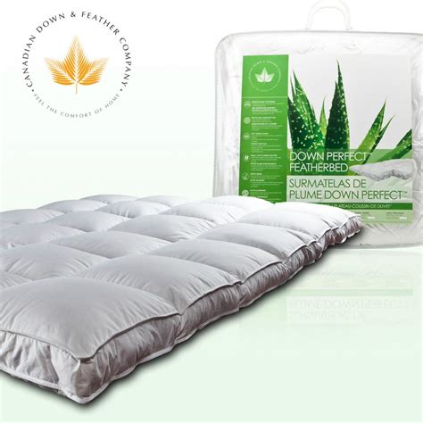 pillow top feather bed down perfect feather bed canadian down feather company