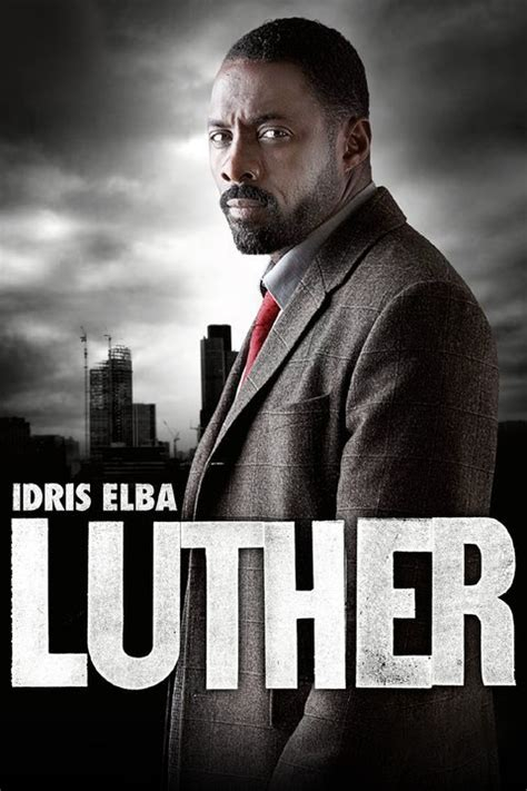 Luther Poster Season 4 Of Luther Starring Idris Elba Airs Dec 17 On